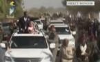 Tchad : Le couple présidentiel à Bongor