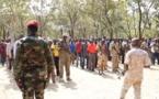 """Centrafrique : Des hommes armés érigent un drapeau rouge """"à partir de Sibut"""""""