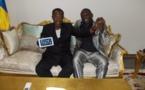 Tchad : Idriss Déby reçoit le concepteur de la tablette Toumaï