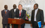 Ban ki-Moon totalement dépassé par le comportement des hommes politiques Centrafricains