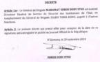Tchad : Le Général Mahamat Idriss Déby prend la tête de la DGSSIE