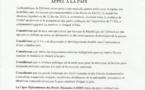 La Ligue Djiboutienne des Droits Humains (LDDH) lance un appel solennel aux parties en conflit à accepter et entamer sans tarder les négociations de paix