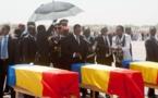 Le Tchad inhume cinq soldats tués au Mali