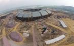11èmes Jeux Africains à Brazzaville : des installations sportives en construction à la hauteur des attentes.