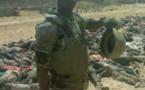 Gamboru : Un charnier de combattants de Boko Haram photographié