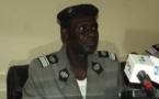Le Porte-parole de la Direction Générale de la Police Nationale, Paul Manga.