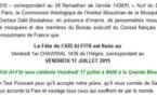Aid el Fitr 2015, fête de Ramadan en France est le vendredi [OFFICIEL]