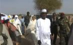 Tchad: Déby est arrivé à Iriba dans un hélicoptère de l'armée, près de la frontière soudanaise
