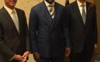 Jean-Baptiste Diathoud, Directeur Général de Technosial fait l'honneur du Congo