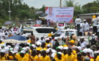 Campagne électorale : Denis Sassou N'Guesso promet le bitumage de la route Ollombo-Abala