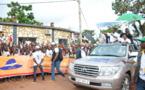 Campagne électorale au Congo : Émotion et affluence au meeting du candidat Sassou N'Guesso à Mouyondzi et Kinkala