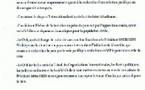 Tchad: communiqué du CNR