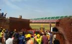 Réfection du stade de Yaoundé : un éboulement de terrain fait une victime