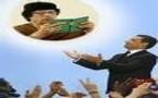 Coopération: Kadhafi contre le projet méditerranéen de Sarkozy