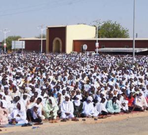 Tchad : En images, la prière de l'Aïd El Fitr à Abéché
