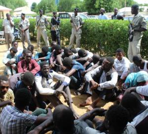 Tchad : 33 présumés braqueurs de motos arrêtés par la police nationale