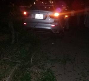 N'Djamena : Un conducteur ivre s'écrase contre un poteau à la place de la nation