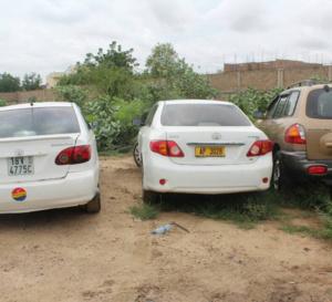 N'Djamena : Un millier de motos et une quarantaine de véhicules saisis