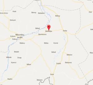 Bébédjia : l'armée procède à un contrôle d'armes et d'objets tranchants chez le maire
