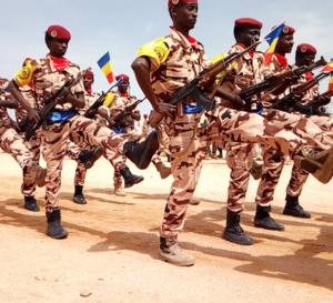 618 militaires tchadiens formés en technique de combat contre le terrorisme