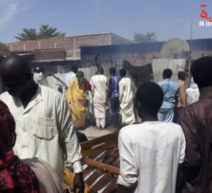 Tchad : un incendie provoque d'importants dégâts à N'Djamena
