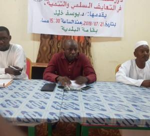 """Tchad : la société civile appelée à """"aider l'État à asseoir une paix durable"""""""
