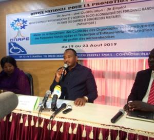 Tchad : des handicapés formés en entrepreneuriat pour favoriser leur insertion