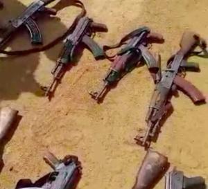 Tchad : de nombreuses kalachnikovs saisies dans des villages à l'Est