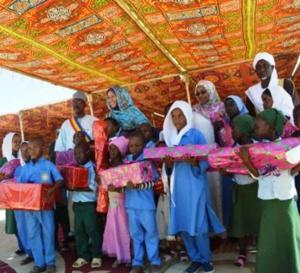 Tchad : des cadeaux offerts à 1.200 enfants à N'Djamena