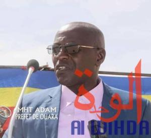 Tchad : le nouveau préfet du département de Ouara installé
