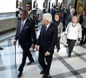 Italie : le président Déby reçu par son homologue Sergio Mattarella