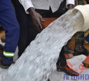 Tchad : à Sarh, le nouveau forage d'eau potable a une teneur en fer normale