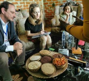 Tchad : la conseillère spéciale du PAM, la Princesse Sarah Zeid plaide en faveur de la nutrition
