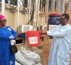 Tchad - Covid-19 : l'UNFPA offre du matériel au ministère de la santé