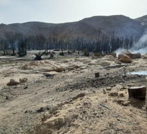 Tchad : un incendie ravageur à Aouzou