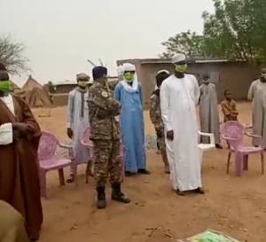Tchad : à Kindji, plus de 2000 masques distribués à la population