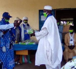 Tchad - COVID 19 : un don de 5000 masques distribué à Pala