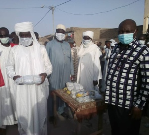 Tchad : à Massakory, 4000 masques distribués aux commerçants du marché central