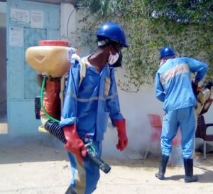 Tchad - Covid-19 : Vitre Clair multiplie ses opérations de désinfection