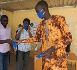 Tchad : l'Union des étudiants lance une campagne de sensibilisation contre la Covid-19
