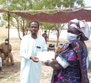 Tchad : au Hadjer Lamis, un appui de 7,8 millions FCFA à 5 jeunes promoteurs