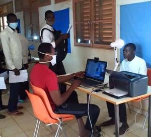 Tchad : à Mongo, enrôlement biométrique des candidats au baccalauréat