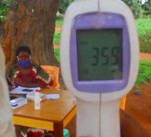 Tchad - Covid-19 : au Mandoul, des contrôles de température efficaces aux entrées de Koumra
