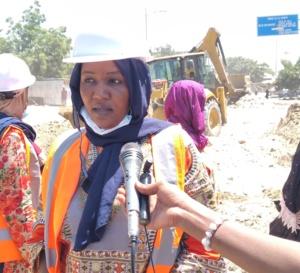 Tchad : des femmes ingénieurs aménagent des rues à N'Djamena pour faciliter la circulation