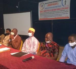 Tchad : des personnes handicapées et jeunes aveugles rendent hommage au corps soignant