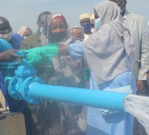 Tchad : la STE abreuve Guinebor avec un nouveau réseau de distribution d'eau