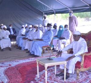 """Corruption : """"Il faut que les tchadiens deviennent propres"""", Idriss Deby"""
