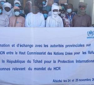 Tchad : La coopération entre le Tchad et le HCR revisitée