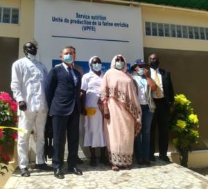 Des farines infantiles pour lutter contre la malnutrition au Tchad