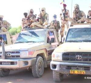 Tchad : du matériel militaire acheminé au Borkou sur instruction du chef de l'État